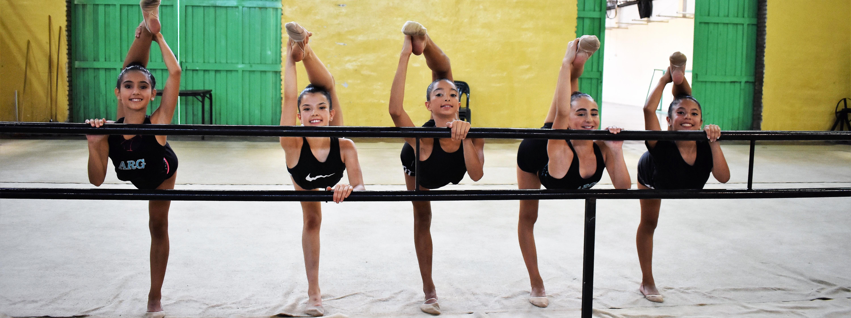RÍTMICA: Cinco pequeñas gimnastas cordobesas que sueñan con llegar a Dakar 2022