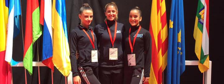RÍTMICA: Sofía Bergliaffa fue Destreza en el Open Internacional de Vitoria