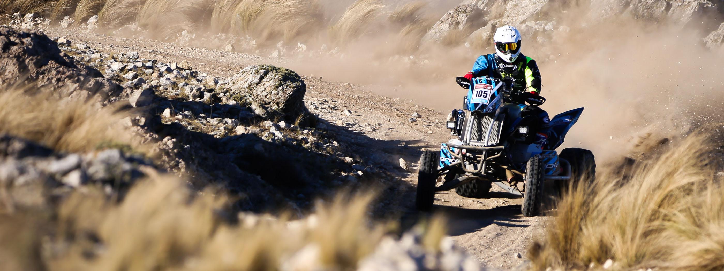 DAKAR SERIES: Los quads garantizan espectáculo en el Desafío Ruta 40