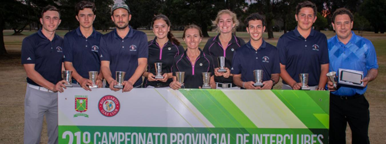 GOLF: El Provincial Interclubes muestra los mejores equipos en Alta Gracia
