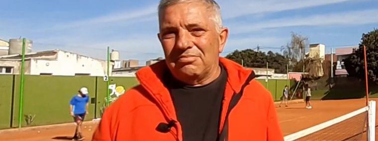 #ENTRENADORES: Ernesto Martín, el artesano de los tenistas cordobeses