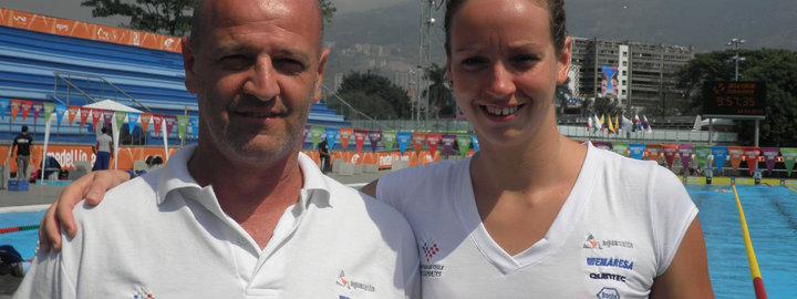 ENTRENADORES: Daniel Garimaldi, forjador de campeones de la natación