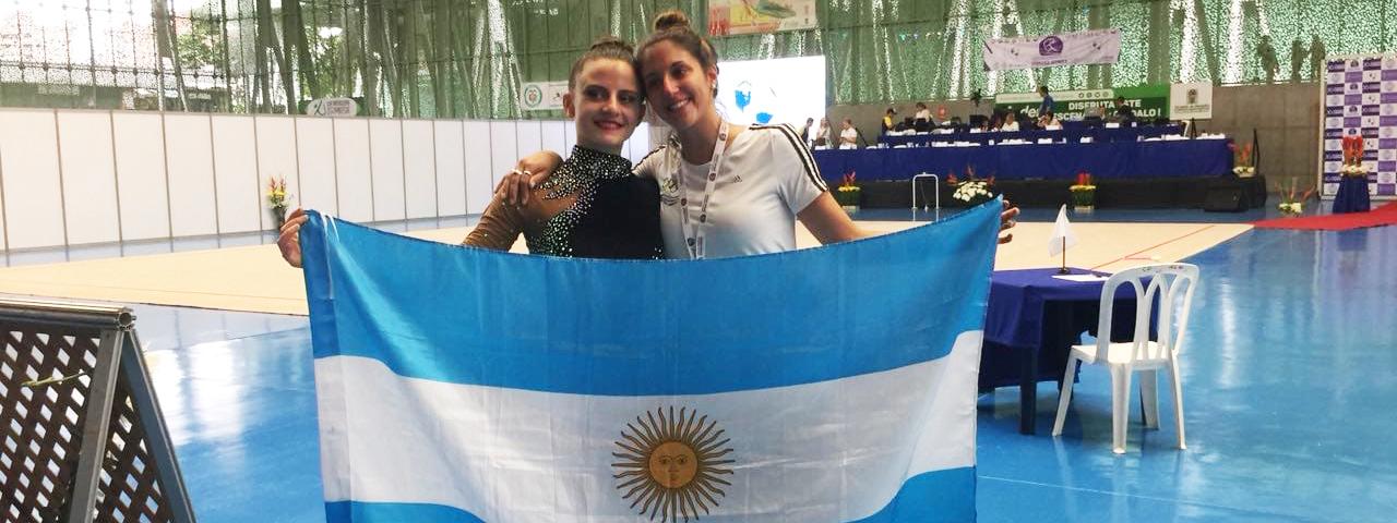 RÍTMICA: Celeste D'Arcángelo recibirá una distinción de la Confederación Argentina de Gimnasia