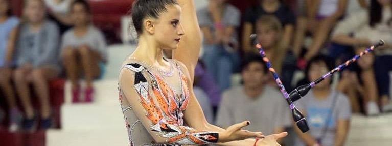 RÍTMICA: Lo mejor de la gimnasia rítmica se muestra en San Luis